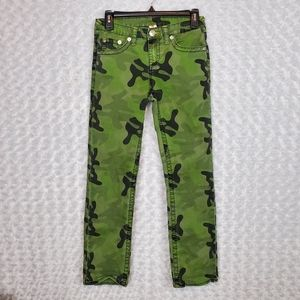 True Religion Camo Straight Leg Jeans